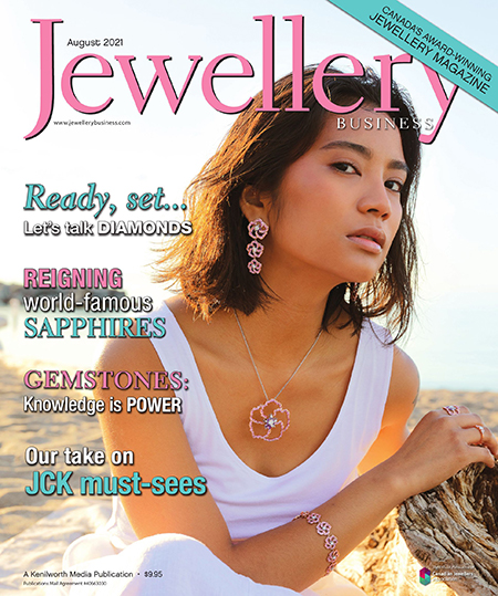 Cover of Jewellery Business magazine