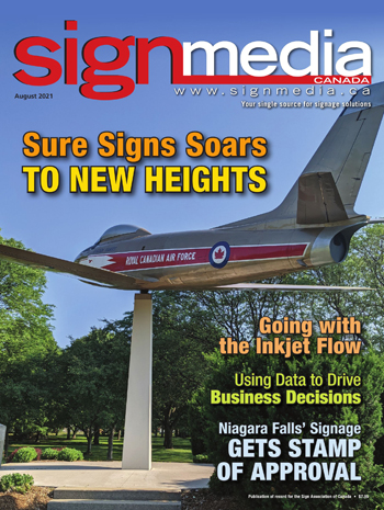 Cover of Sign Media magazine